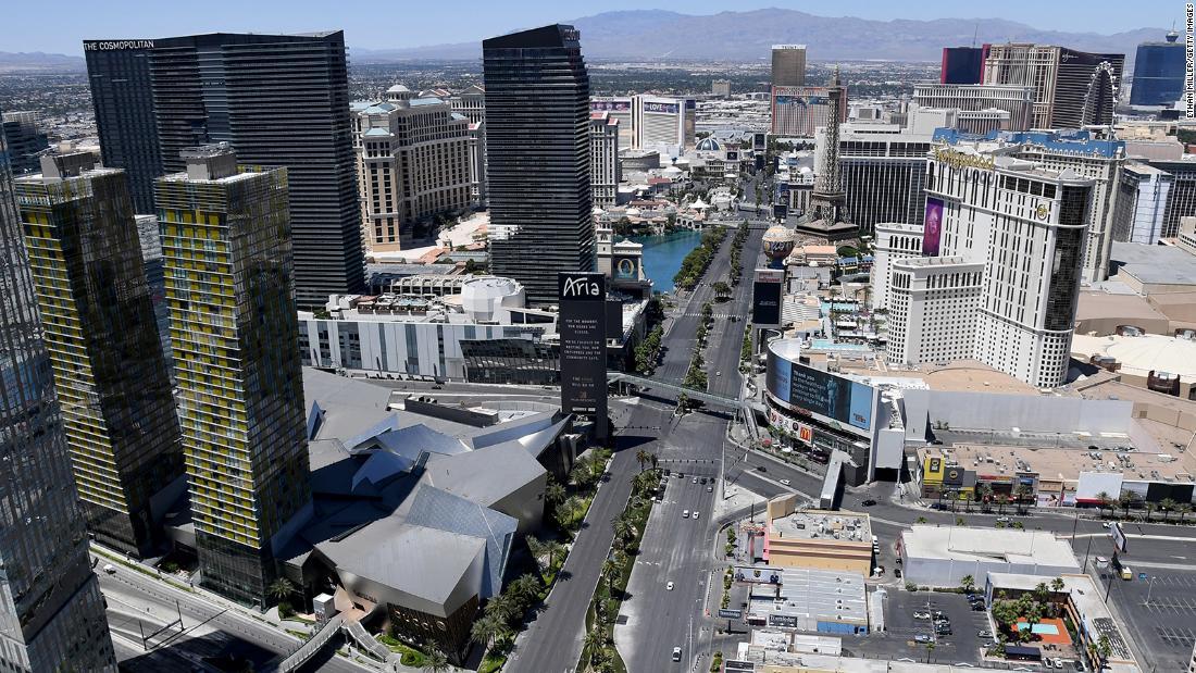 Las Vegas Strip set to reopen on June 4